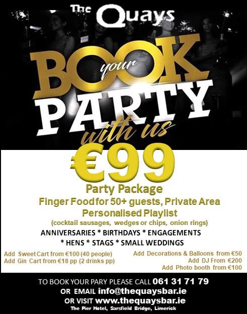 Book your party here!
