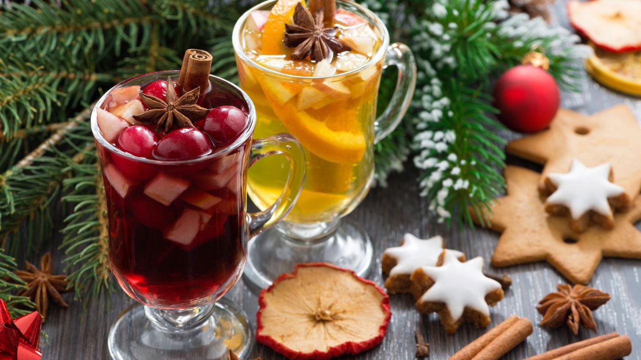 Christmas Cocktail Bar